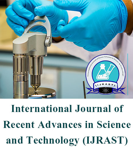 View Vol. 1 No. 1 (2014): International Journal of Recent Advances in Science and Technology