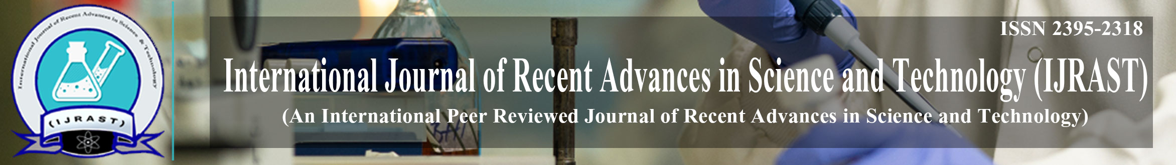 International Journal of Recent Advances in Science and Technology